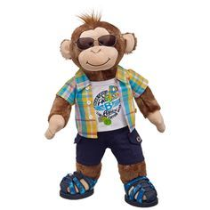 Surfer Cheerful Monkey is ready to hit the waves at Build-a-Bear Workshop! Description from pinterest.com. I searched for this on bing.com/images