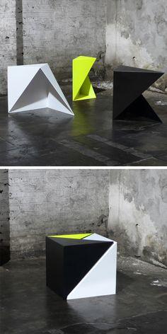 Tangram tables (Geometric Furniture Designs)