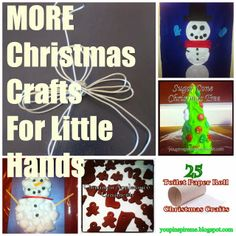 MORE Christmas Crafts For Little Hands