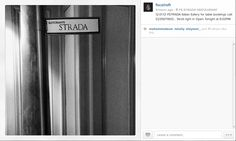 Follow the STRADA Signs... @Four Seasons Hotel Cairo at The First Residence on Instagram