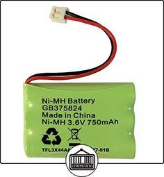 Batería de repuesto para Tomy Walkabout Platinum Baby Monitor batería recargable NiMH 3,6V 750mAh GB375824tfl3x 44aaa650-cd77-01B  ✿ Seguridad para tu bebé - (Protege a tus hijos) ✿ ▬► Ver oferta: http://comprar.io/goto/B00XC36ZMO