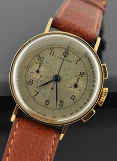 Vintage 1940 Longines dress chronograph cal. 13ZN