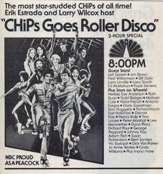 CHiPs Goes Roller Disco - 1979TV special.