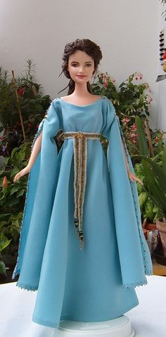 Guinevere OOAK customized Barbie doll