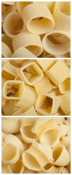 Short Pasta Shapes #shortpasta
