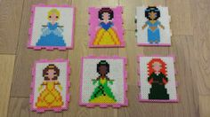 Disney Princess box hama beads by John Wong - Box: https://www.pinterest.com/pin/374291419008734963/