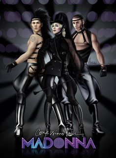 So, it's #tbt and I was wondering if anyone here remembers this drawing?!   It was created way back in 2006 in honour of Madonna's Confessions Tour. It was the first tour of M I ever attended in my life, in Cardiff, Wales and I was so blesses to meet so many amazing people make some great friends, and even be in the first row of the main catwalk right in front of the famous 1M$ disco ball!