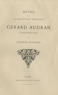 Augustaux - Ed. Perrin - 1846-55