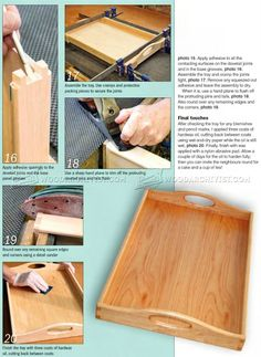 #3101 Tea Tray Plans - Woodworking Plans