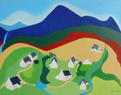 High Corrie II, by Clare Galloway