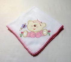 Babita Bordada - Ursinha (rosa)