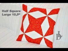 Patchwork Half Square Large - Flic Flac & Kaleidoscope - YouTube