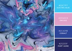 101 Color Combinations to Inspire Your Next Design – Abstract Color Palette