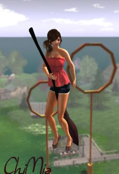 Broom gatchas at ChiMia, great for Harry Potter roleplayers. http://maps.secondlife.com/secondlife/Jack%20and%20Jones/113/65/23