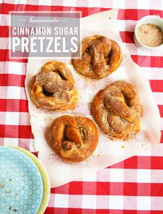 Homemade Cinnamon Sugar Pretzels