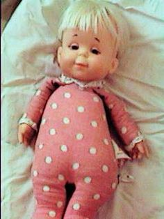 Drowsy Doll from the 70s. Pull the cord and she talks . She was my favorite toy and I still have her!!