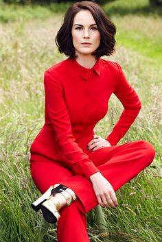 Michelle Dockery I like the fierceness of her look