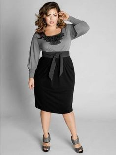 cutethickgirls.com plus-size-dresses-for-work-05 #plussizedresses