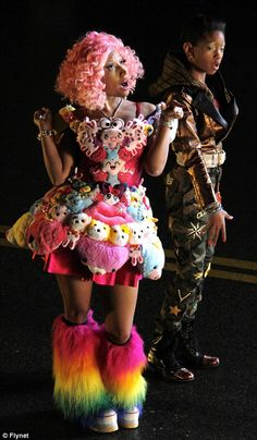 Google Image Result for http://fashionbombdaily.com/wp-content/uploads/2011/11/nicki-minaj-willow-smith-music-video-filming.jpg