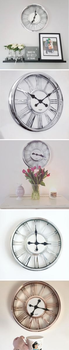 fcd4108e3c7 Trending Now on Instagram  Numeral Station Wall Clock