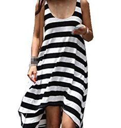 21500d36b803f Bestal Women s Cover Up Mini Dress Sundress Swim Wear Beach Skirt