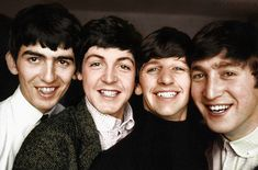L-R George,Paul,Ringo,John, color edit applescruffs blog