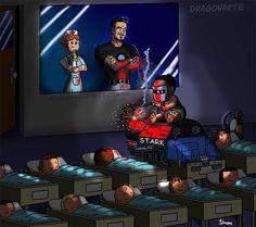 iron Man - Best of Memes Ms Marvel, Marvel Funny, Marvel Memes, Marvel Dc Comics, Marvel Avengers, Avengers Humor, Disney Marvel, Superhero Memes, Superhero Kids