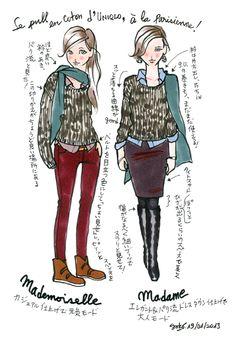 ユニクロで今春パリ流マストアイテムゲット! : パリ流ダイアリー(Petit journal de YOKO)