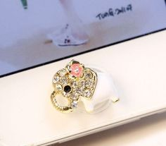 1PC Bling rhinestone Elephant Home Button Sticker for iPhone 4 case,iphone 4s case,Apple iphone 5 case, 5 & iPad on Etsy, $4.99