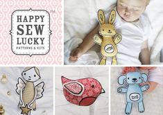 Adorable animal sewing patterns