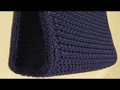 "Tutorial uncinetto pochette ""Stella"" 