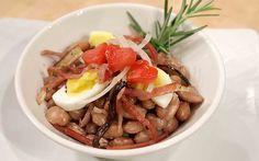 Insalata del cuore (Insalata tiepida di fagioli in salsa), di Margherita