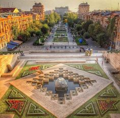 The Cascade. Yerevan, Armenia