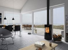 Most current Images Freestanding Fireplace wood burning Tips Fireplaces certainly are a coveted item among homeowners and home buyers alike. They're practical Wood Burning Stove Corner, Wood Burning Tips, New Stove, Multi Fuel Stove, Freestanding Fireplace, Freestanding Stoves, Kitchen Stove, Kitchen Wood, Stove Fireplace