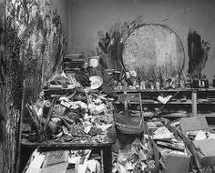 Francis Bacons studio