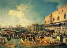 Reception+of+the+Imperial+Ambassador+at+the+Doge's+Palace+-+Canaletto
