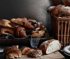 Danish pastries & bread by Lagkagehuset.