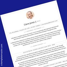 CV Template collection: 210 free CV templates in Microsoft Word