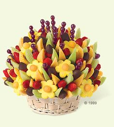 Edible Arrangements: easily this is one of my favorite gifts to receive - especially when the chocolate is sprinkled with cinnamon