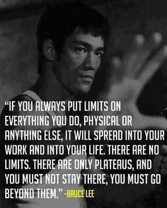 Right on! No limits!