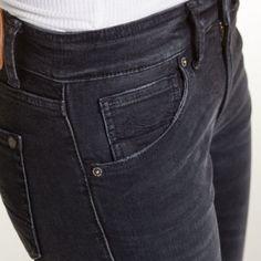 KOI Kings of Indigo Jeans Juno Black Worn In Super Slim Fit