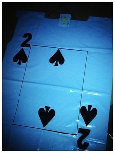 Poker Carnaval COMO HACER CON BOLSAS DE BASURA TU DIZFRAZ DE CARTA