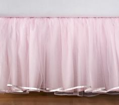 I want this for my daughter!!!! ITS A BED SKIRT THAT LOOKS LIKE A TUTU!!!! I love it!