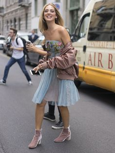 The Street Style at Milan Fashion Week May Be the Best Yet Day 1 Chiara Ferragni