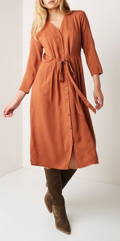 Van 100% lyocell Soft Autumn, Boards, Van, Shirt Dress, Type, Shirts, Outfits, Dresses, Fashion