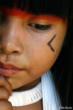 Indigena de la Amazonia, Brasil