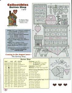 Schema punto croce Buttom Shop 02/02