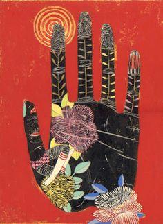 Hand - illustration by Jennifer Davis