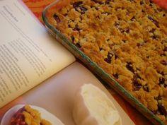 Lola en la cocina: Kirschenstreuselkuchen ( Pastel Streusel de cerezas)