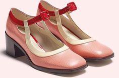BNIB CLARKS ORLA KIELY AMELIA PINK MARY JANE SHOES SIZE UK 7, US 9.5, EU 41 | eBay